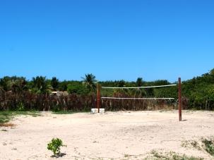 Pousada Mirage Atins: Volleyball court