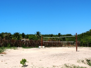 Pousada Mirage Atins: Volleyball court