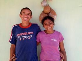 Pousada Mirage Atins: Gaby and Silma